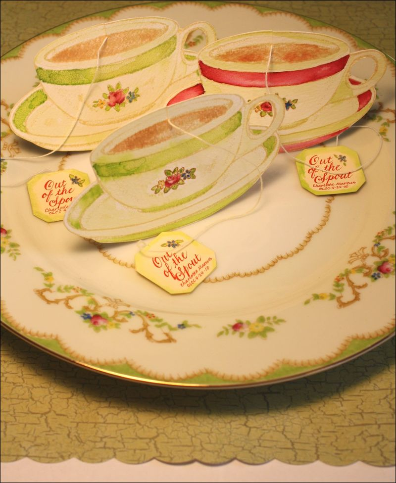 Tea party favors