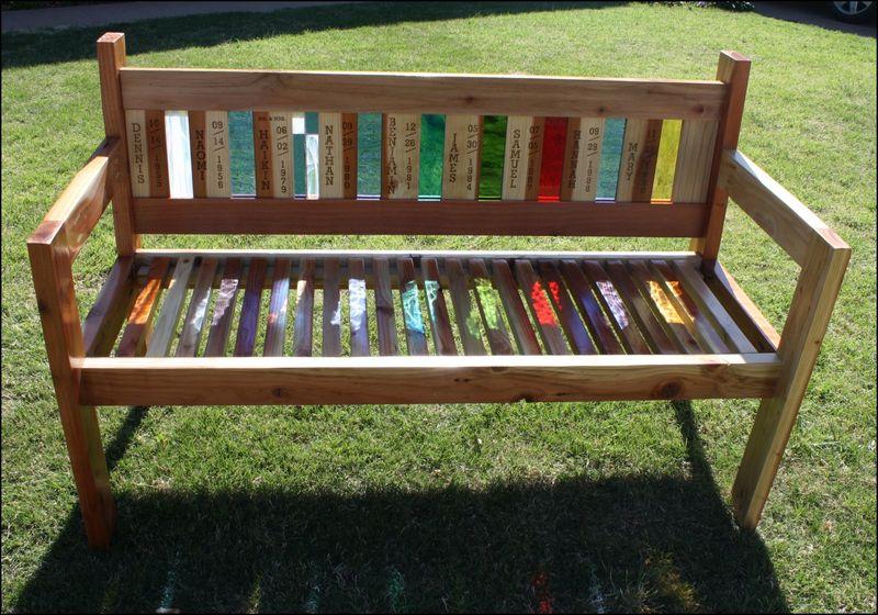 Family bench