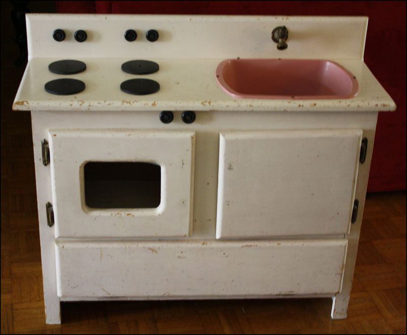 Play kitchen before