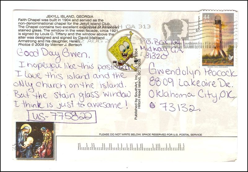 Postcard for Gwendolyn