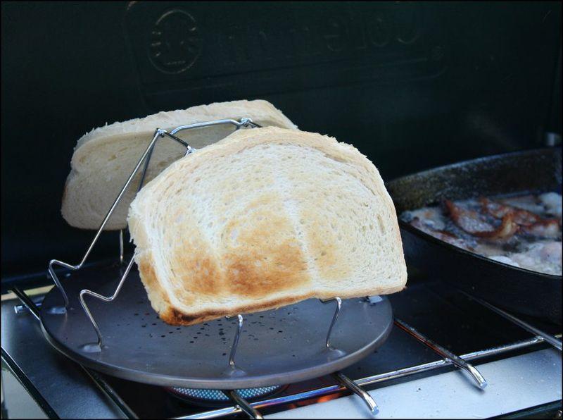 Toast and bacon. amen.