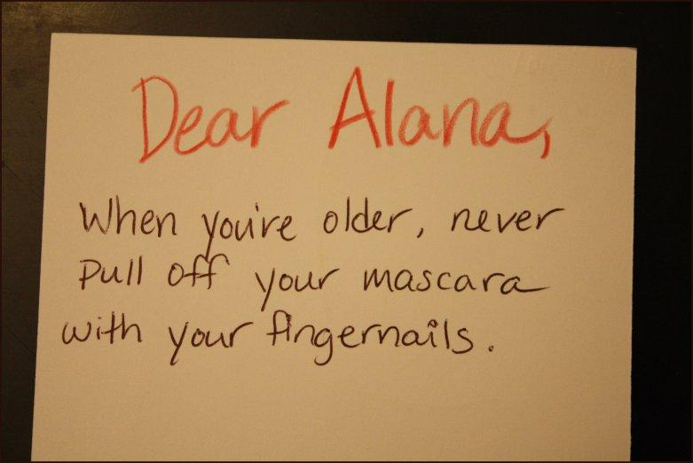Dear Alana