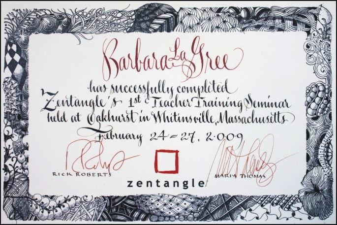 Certified!