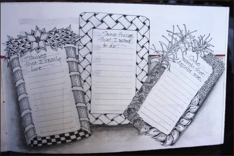 Tangled Journal Page Two