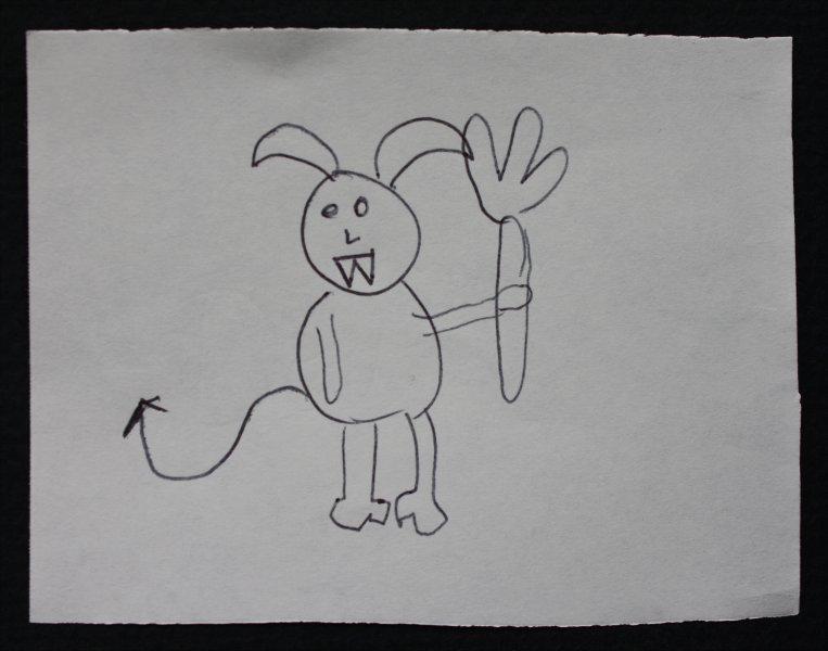 Devil bunny