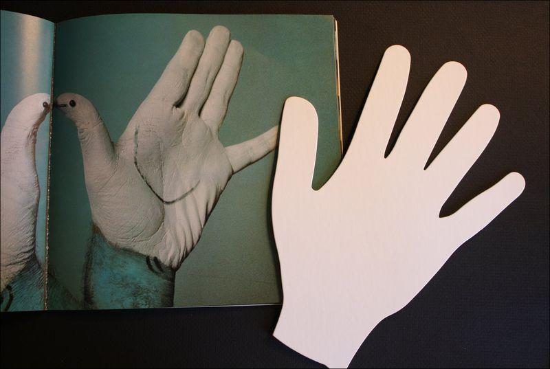 Die cut mat board hand