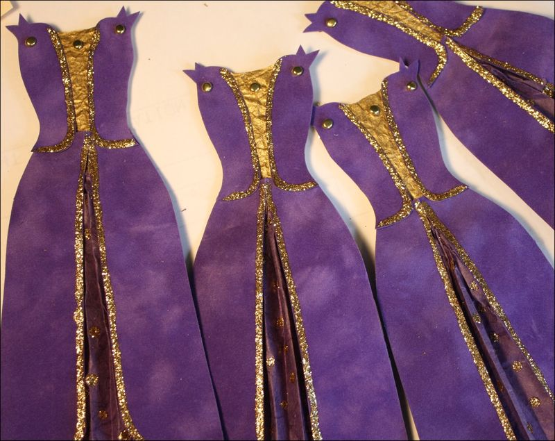 Many Queenly Robes