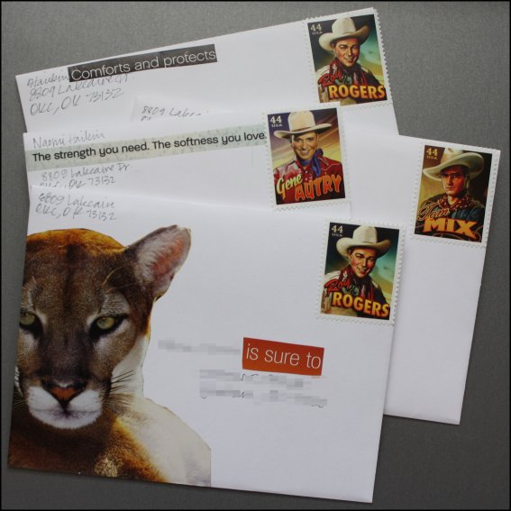 Cowboy stamps