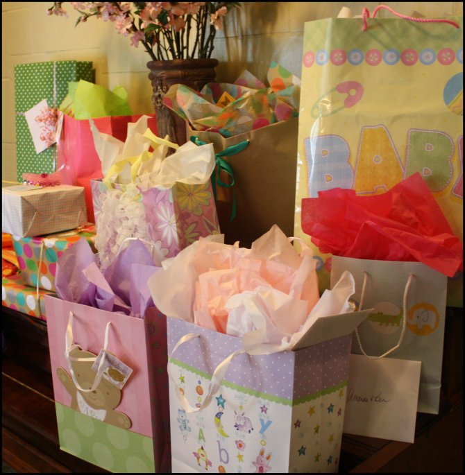 Many Gifts for Baby