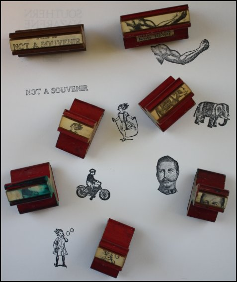 New Old Rubber Stamps