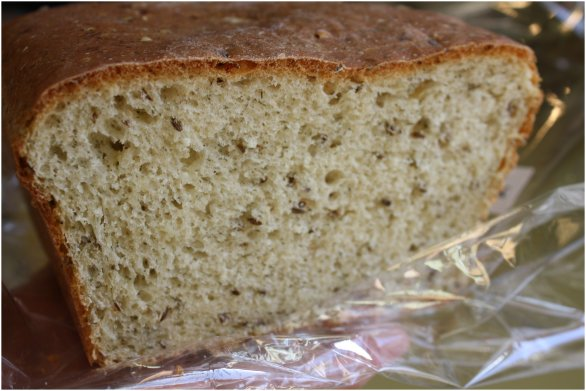 Dill Bread Close Up
