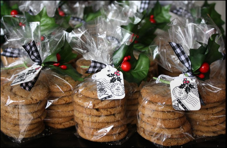 The first 100 molasses sugar cookies