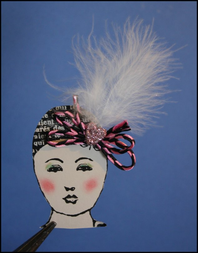 Valentine Details - Fancy Schmancy Head dress