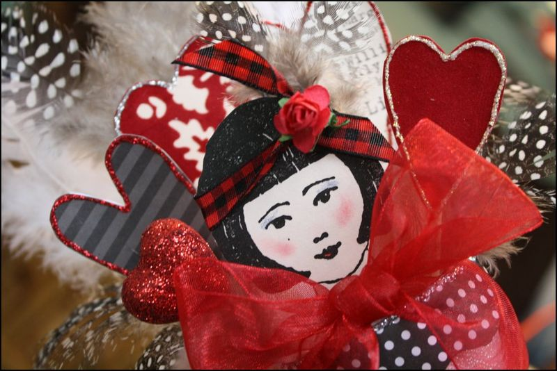 Valentine Detail - Sweet Girl!