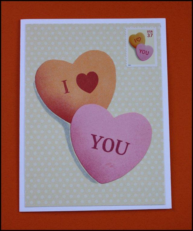 Postage Valentine
