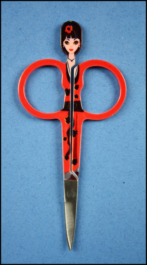 Special curved embroidery scissors from seester