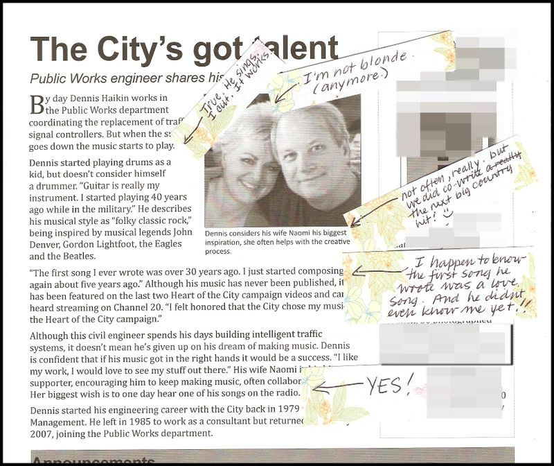 City newsletter