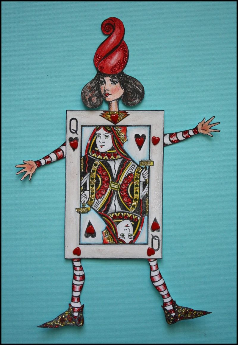 Anniversary Give-away - The Queen of Hearts