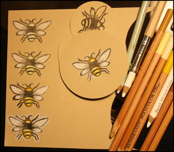 Bees in progress