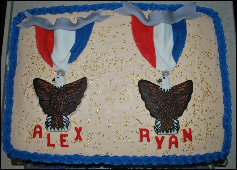 Eagle Scout Cake - Chocolate