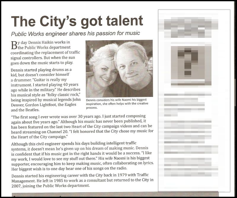 City newsletter unedited