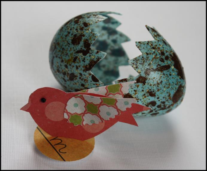 Newly hatched redbird