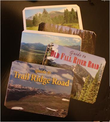 Trail guide book covers