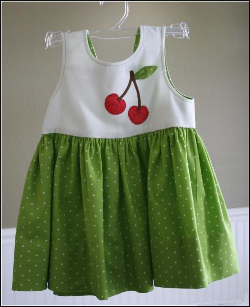 Child's dress - front view