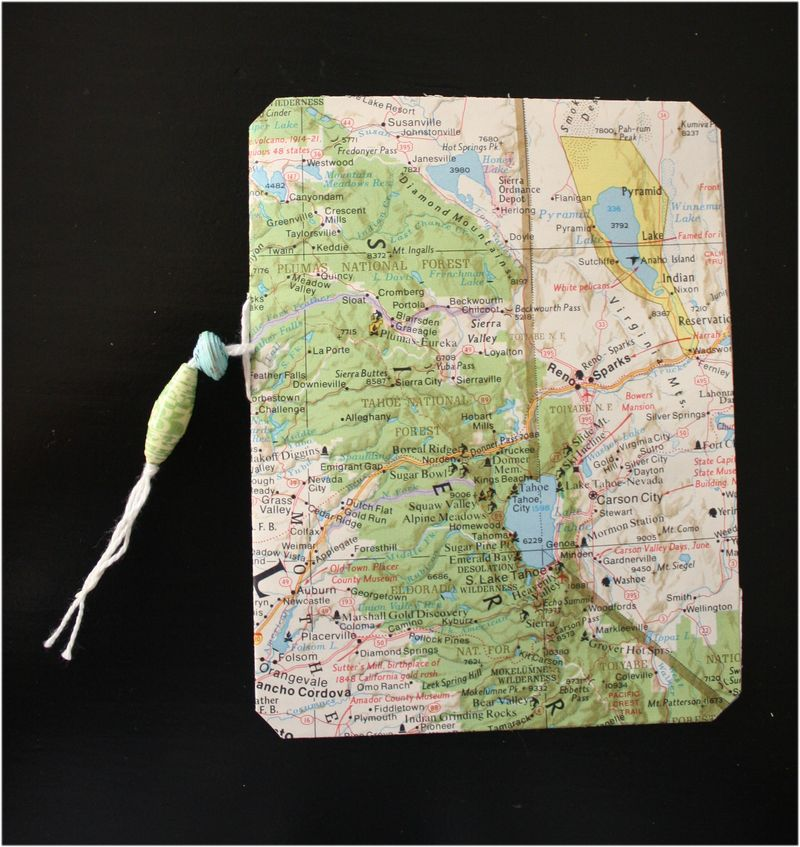 Map book cover one