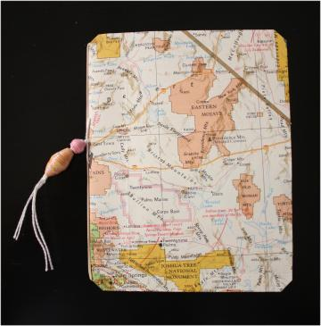 Map book cover three