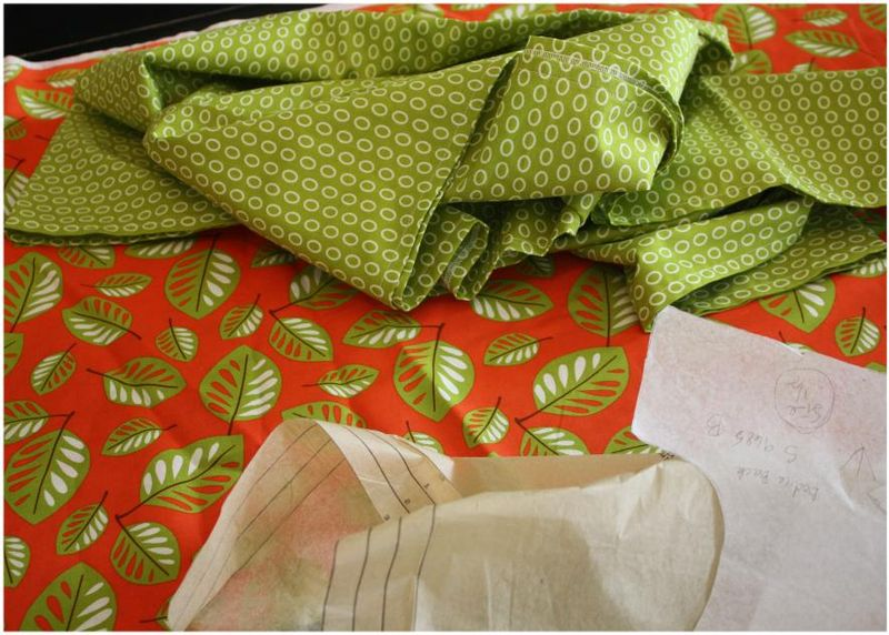 Companion fabrics for the sundress