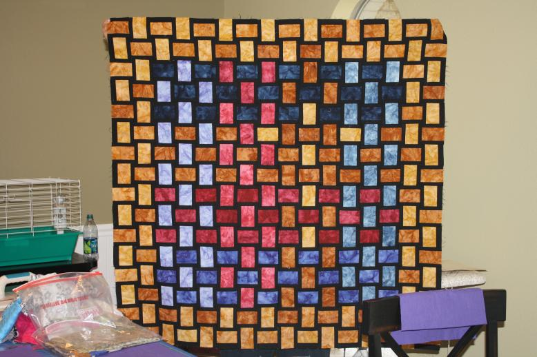 Quilt Camp Show and Tell Julie #1