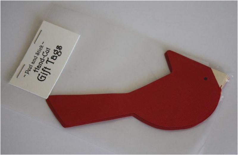 Cardinal Gift Tags