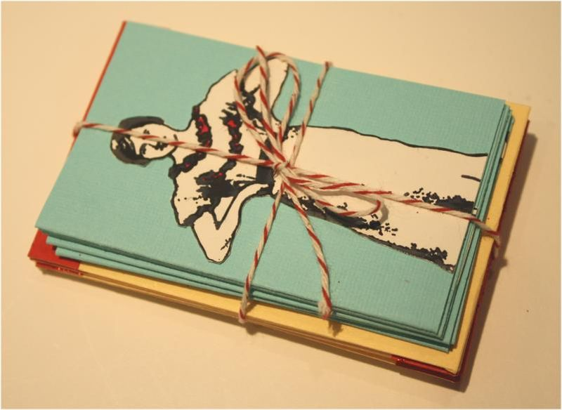 Package of small notecards