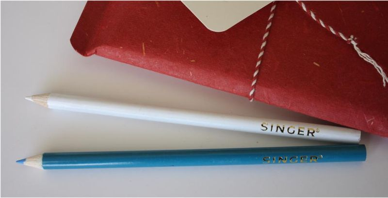 Fabric marking pencils