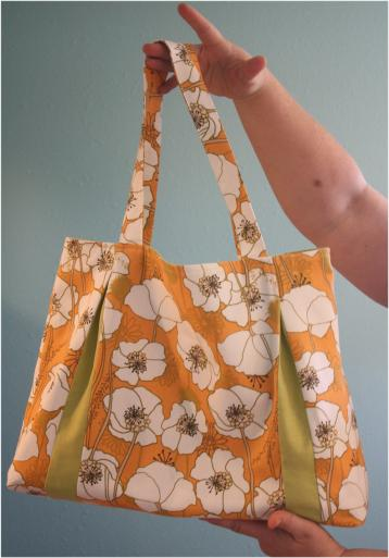 Pleated Beauty Tote by Dana