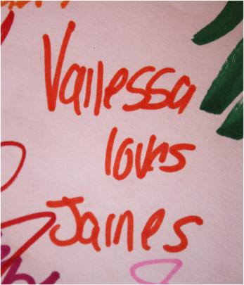 Odd Collections - Vanessa loves James.