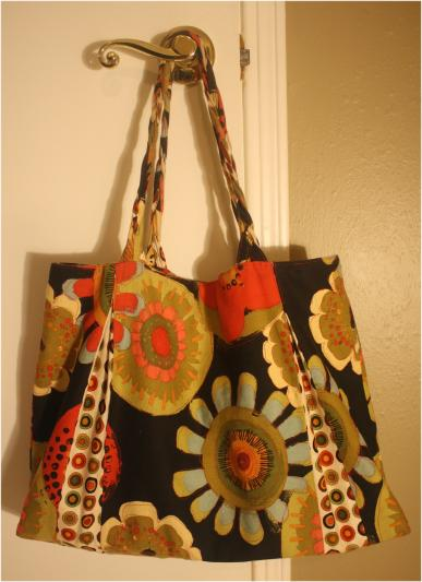 Pleated Beauty Tote - By Naomi