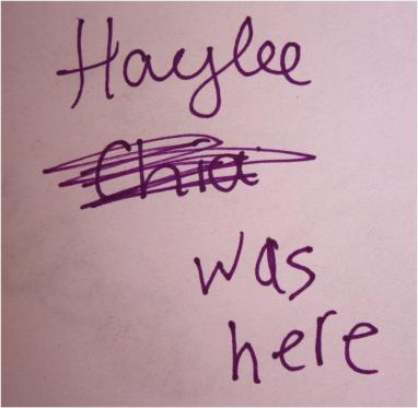 Odd Collections - Haylee was here.