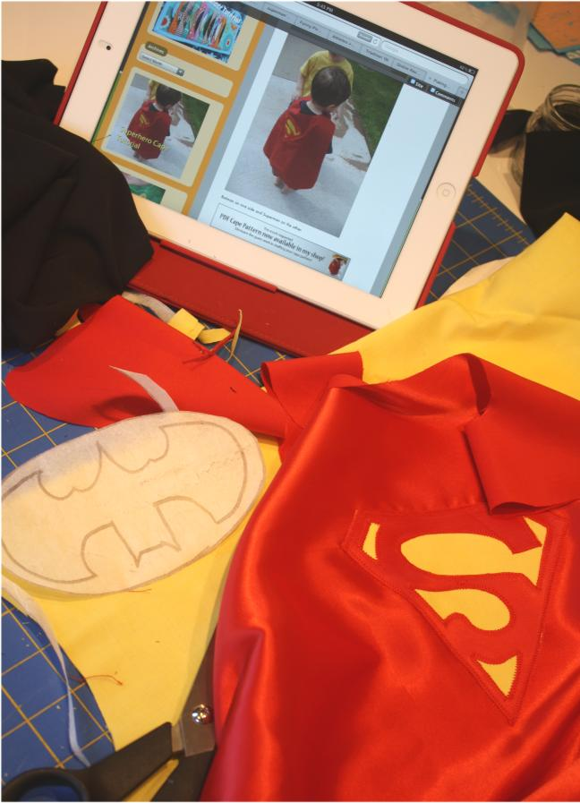 Making superhero capes
