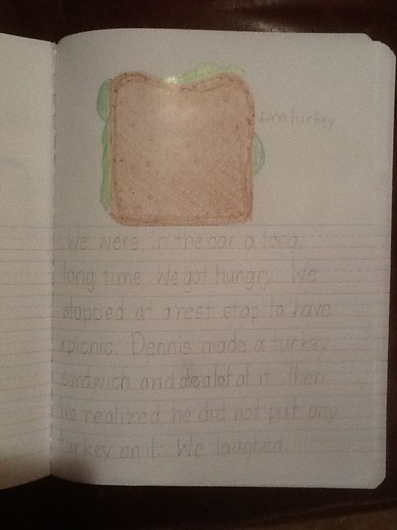 My Vacation Pg 2 By Gwen Grade 2