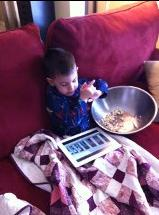Popcorn for breakfast