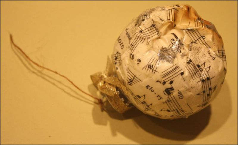 Doomed Christmas Ornament