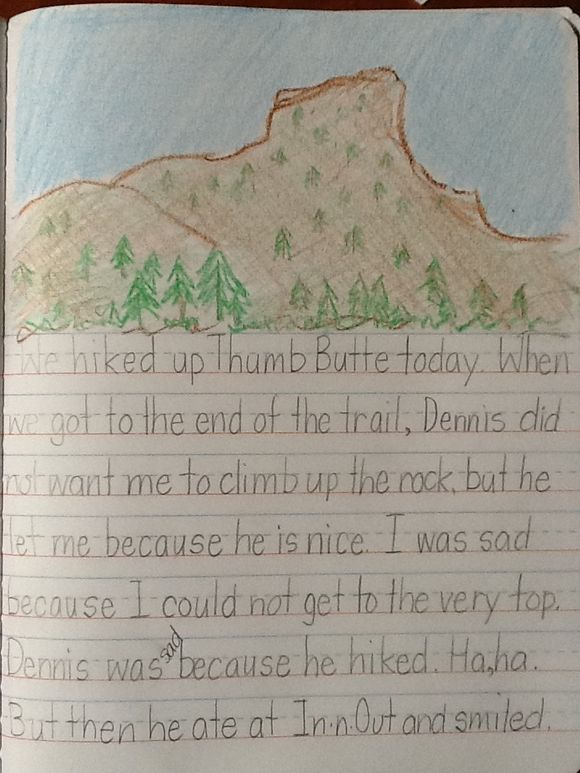 My Vacation Pg. 4 by GweNaomi Grade 2