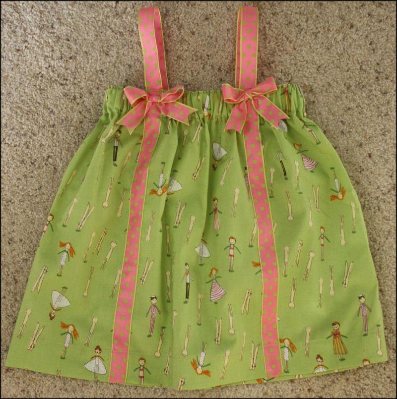 Easy-Sew Summer PJ's - Little Girl