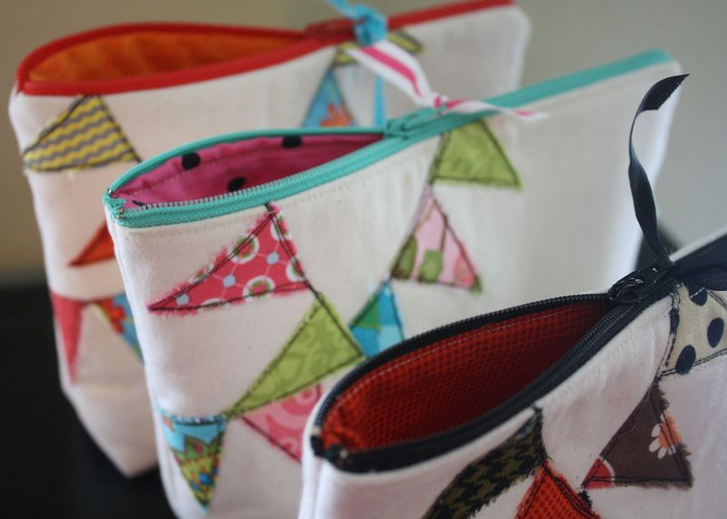 Diy Zipper Pouches