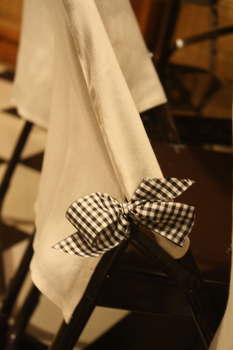 Folding chair  slip covers
