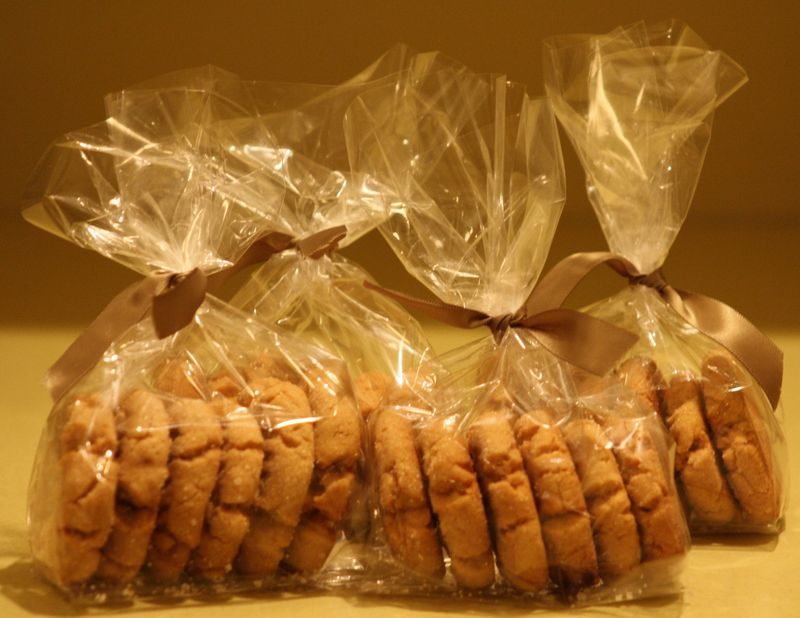 The Best Peanut Butter Cookies - Take-home packs