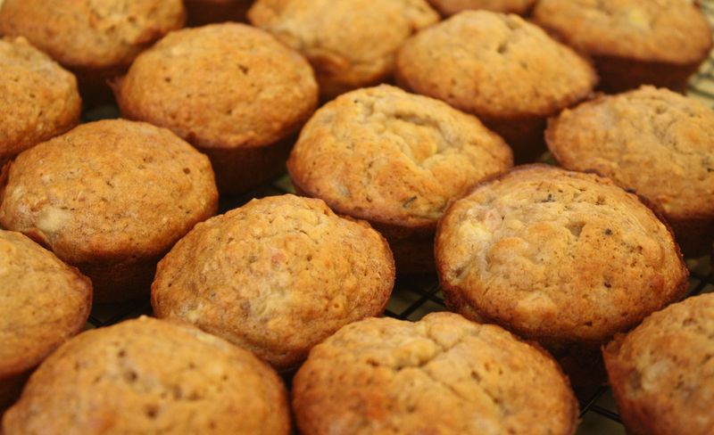 The best banana nut muffins