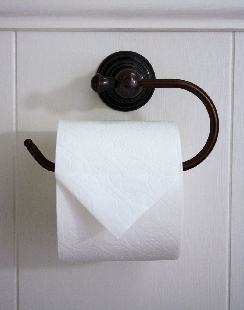 Fancy up the toilet paper
